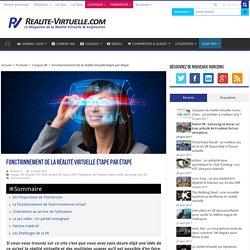 Fonctionnement de la réalité virtuelle étape par étape
