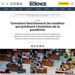 Comment fonctionnent les modèles qui prédisent l'évolution de la pandémie