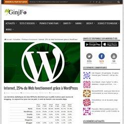 Internet, 25% du Web fonctionnent grâce à WordPress