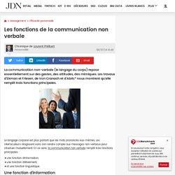 Les fonctions de la communication non verbale