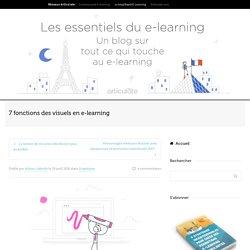 7 fonctions des visuels en e-learning