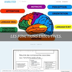 Les fonctions exécutives. – HabiliTED