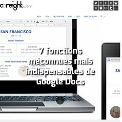 7 fonctions méconnues mais indispensables de Google Docs