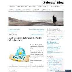 Les 6 fonctions du langage de Twitter, selon Jakobson