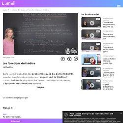 Les fonctions du théâtre - Vidéo Français