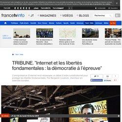 """TRIBUNE. """"Internet et les libertés fondamentales : la démocratie à l'épreuve"""""""