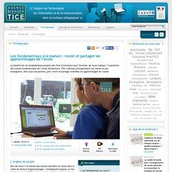 L'Agence nationale des Usages des TICE - Les fondamentaux à la maison : revoir et partager les apprentissages de l'école