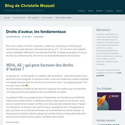 Droits d'auteur, les fondamentauxBlog de Christelle Mozzati
