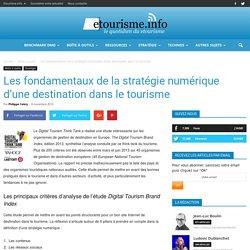 Les fondamentaux de la stratégie numérique d'une destination dans le tourisme