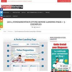 Les 4 fondamentaux d'une bonne landing page + 5 exemples