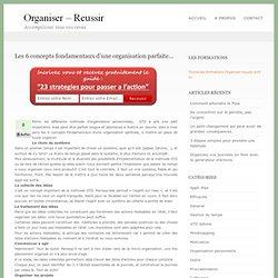 Les 6 concepts fondamentaux d'une organisation parfaite…