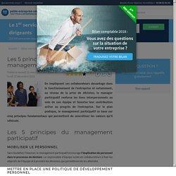 Les 5 principes fondamentaux du management participatif