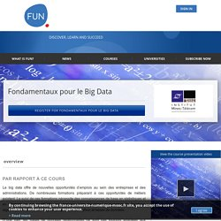 Fondamentaux pour le Big Data