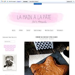 Fondant au chocolat {Cyril Lignac} -