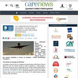 Le fondateur d'easyJet léguera 1,15 milliard d'euros à des oeuvres caritatives - Carenews