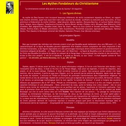Mythes fondateurs du christianisme I