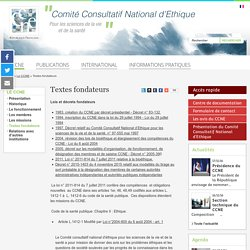 Comité Consultatif National d'Ethique