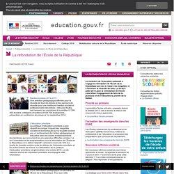 Les textes fondateurs - Ministère de l'éducation nationale