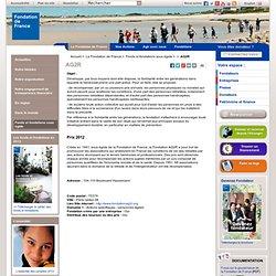 Fondation AG2R sous l'égide de la Fondation de France