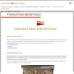 Fondation Beneteau - Groupe Bénéteau