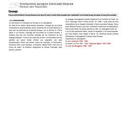 Influence du Caravage en Europe - page sur Zurbaran : Fondation J.-E Berger