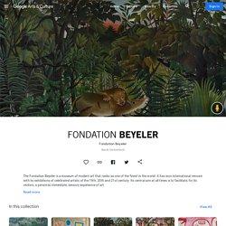 Visite virtuelle de la Fondation Beyeler à Bâle