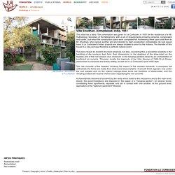 Fondation Le Corbusier - Buildings - Villa Shodhan