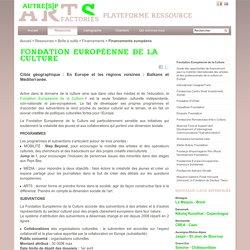 Fondation Européenne de la Culture