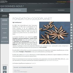 Fondation GoodPlanet - Fondation GoodPlanet