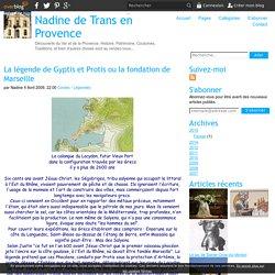 La légende de Gyptis et Protis ou la fondation de Marseille - Nadine de Trans en Provence