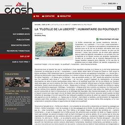 CRASH - Fondation Médecins Sans Frontières
