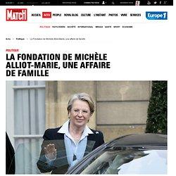 La Fondation de Michèle Alliot-Marie, une affaire de famille