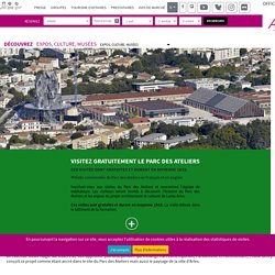Fondation & Tour LUMA à Arles - Office de Tourisme d'Arles