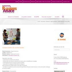 Fondation Passions Alsace – Création d'ateliers de couches lavables
