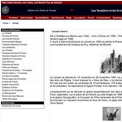 Fondation de La Milice des Pauvres chevaliers du Temple de Salomon