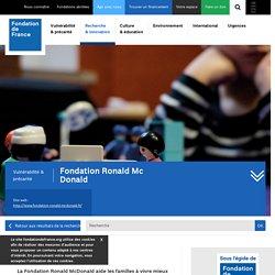 Fondation Ronald Mc Donald
