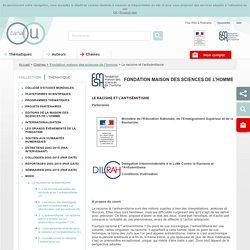Fondation maison des sciences de l'homme - Chaînes - Canal-U