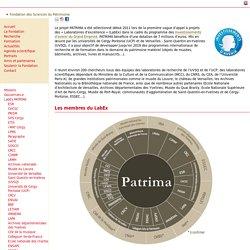LabEx PATRIMA - Fondation des sciences du patrimoine