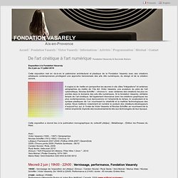 Fondation Vasarely - Aix-en-Provence - Victor Vasarely - France