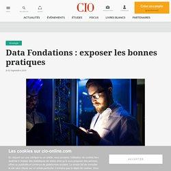 Une conférence CIO Data Fondations le 1er octobre