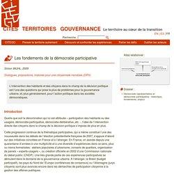 Les fondements de la démocratie participative