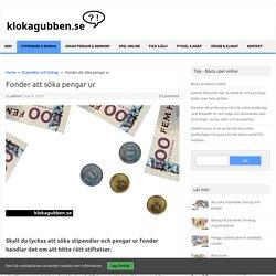 Fonder att söka pengar ur - klokagubben.se