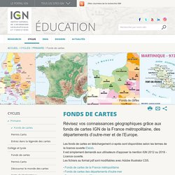IGN - Fonds de cartes