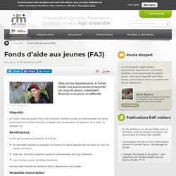 Fonds d'aide aux jeunes (FAJ)