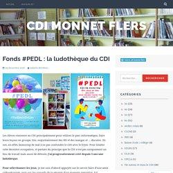 Fonds #PEDL : la ludothèque du CDI
