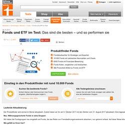 Fonds und ETF im Test - Das sind die besten – und so performen sie