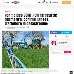 (13) Fongicides SDHI : «On ne peut se permettre, comme l'Anses, d'attendre lacatastrophe»