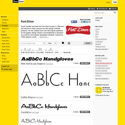 Font Diner Type Foundry