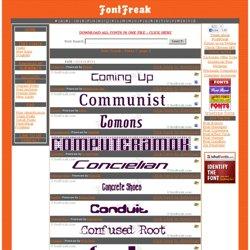 Font Freak - Font C page 5