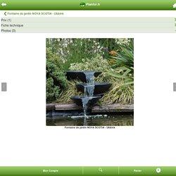 Fontaine de jardin NOVA SCOTIA - Ubbink : vente Fontaine de jardin NOVA SCOTIA - Ubbink /